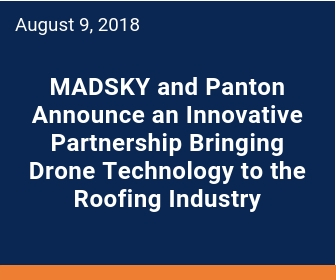 MADSKY works with insurance companies to help their insured after a storm hits.  Drone technology allows for aerial photos and video to be taken of the impacted roof and exterior.